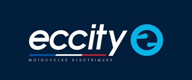 Logo eccity Baseline pour fond coloré