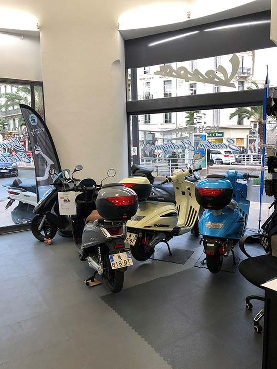 Aventure Scooter Cannes Nipponia e-Legance