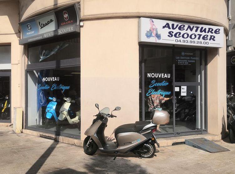 eccity à Cannes avec Aventure Scooter
