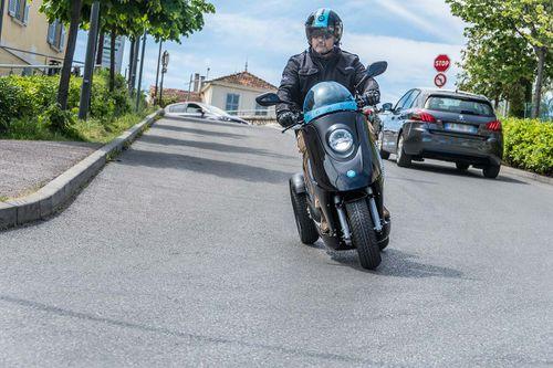 Les scooters électrique eccity sont disponibles à Roanne